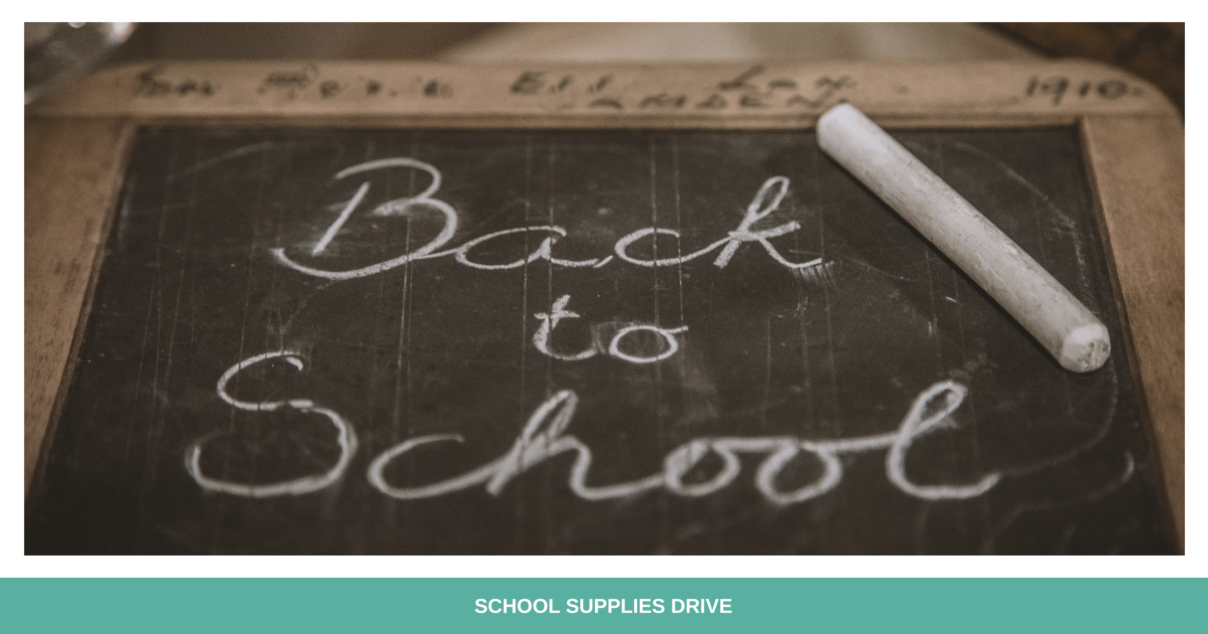 August Already? EFWM's school supply drive