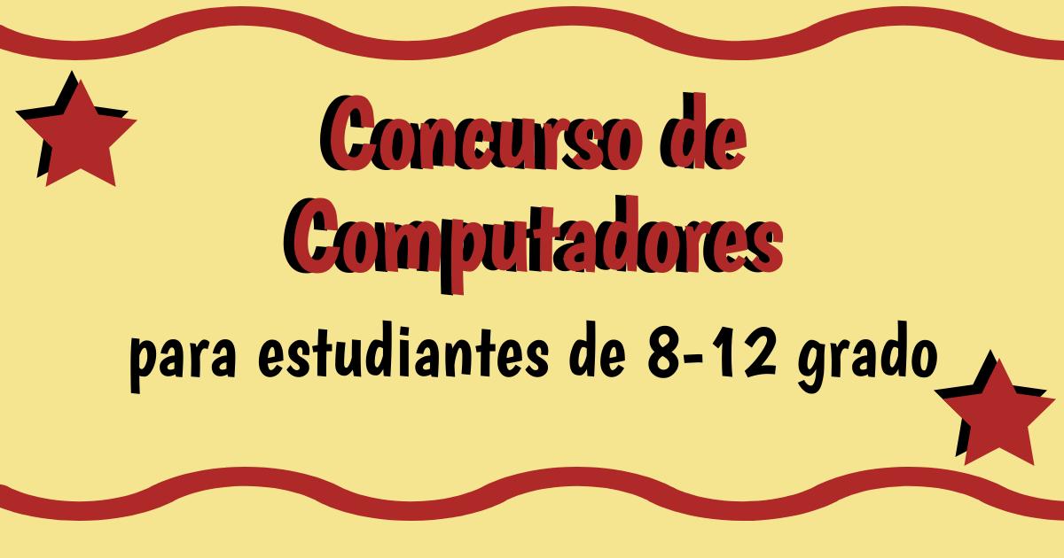 Computadores Disponibles para Estudiantes de Color De 8-12 Grado