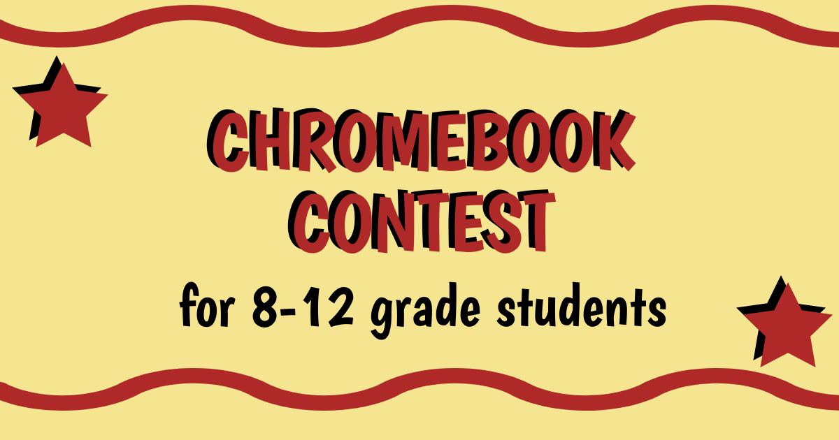 Chromebooks Available for 8-12 grade Students of Color